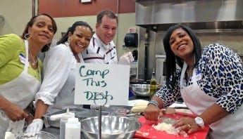 Team Building Exercises for Work - Group Cooking
