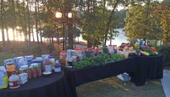 Corporate Culinary Team Building - Outside