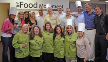 Team Building with Corporate Cooking Classes - Paychex Team