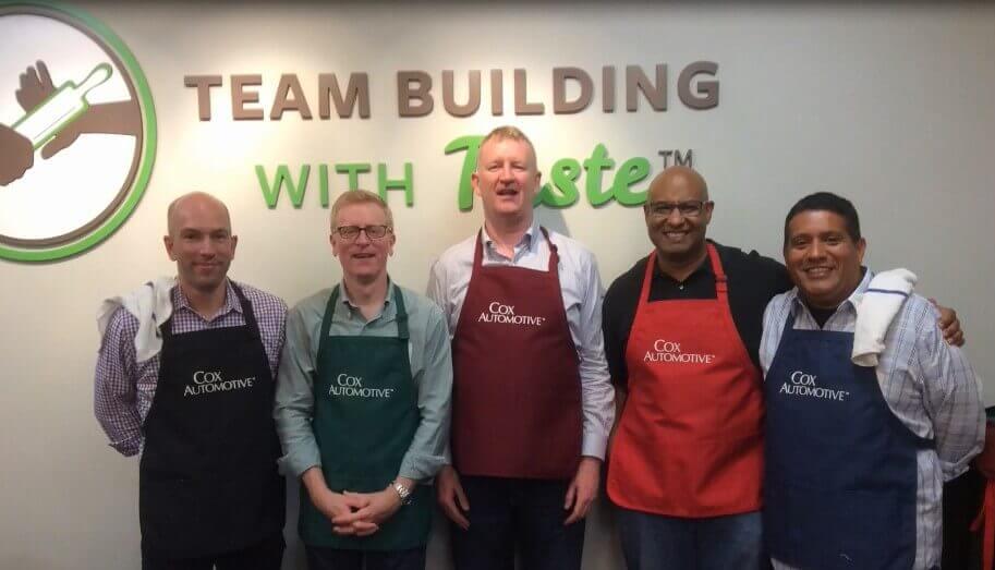 Corporate Culinary Team Building Atlanta - Cox Automotive TBWT