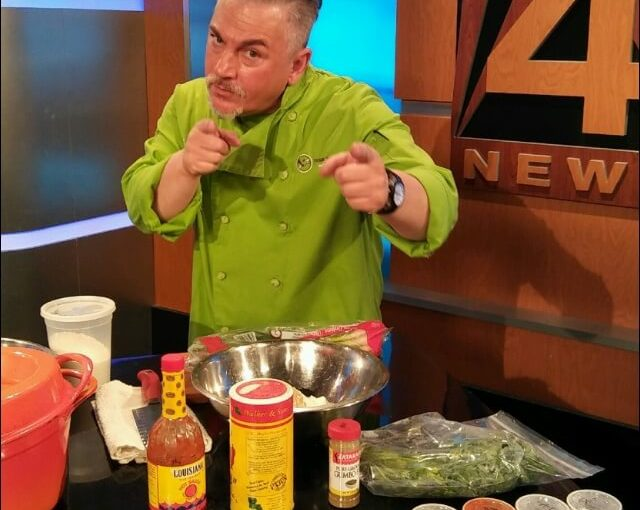 Chef Joey Allette on Good Day Fox