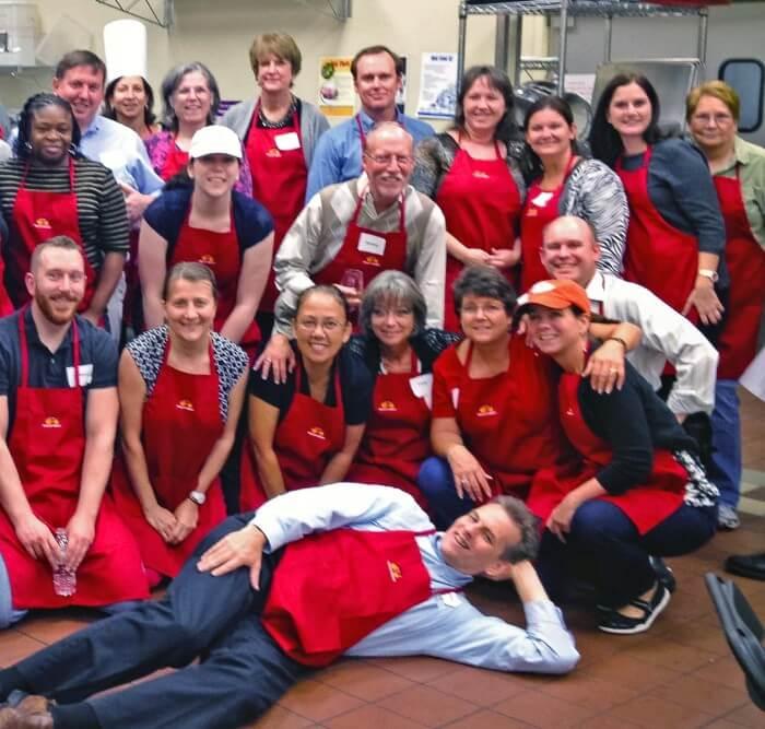 Team Building Cooking Classes - Wells Fargo Group